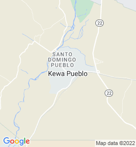 Santo Domingo Pueblo NM Map