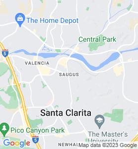 Saugus CA Map