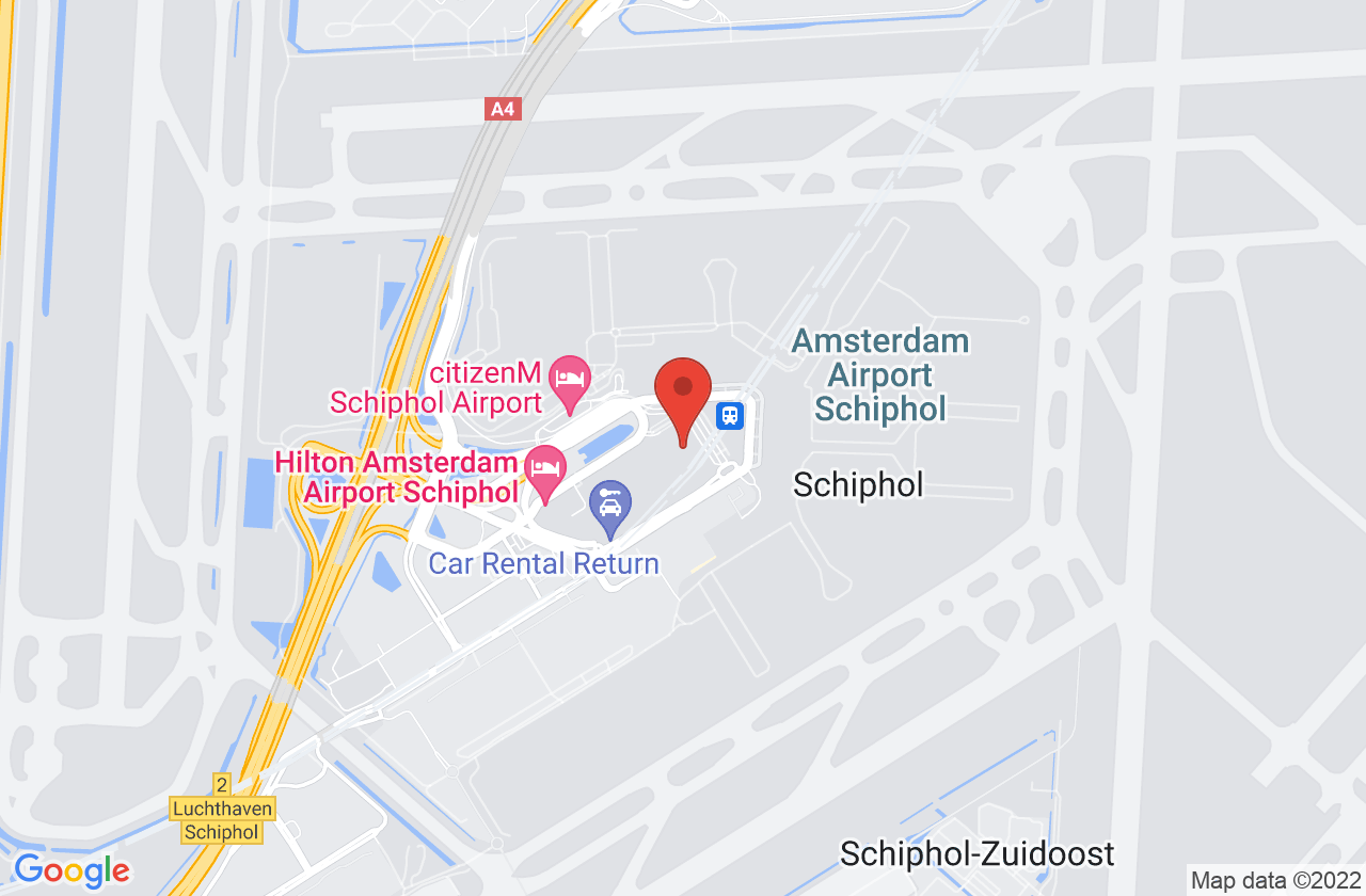 Sheraton Amsterdam Airport Hotel & Conference Center on Google Maps