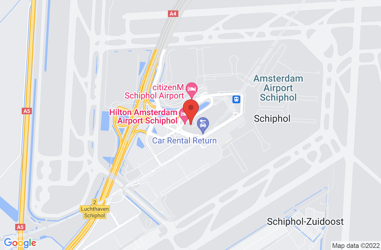 Hilton Amsterdam Airport Schiphol on Google Maps