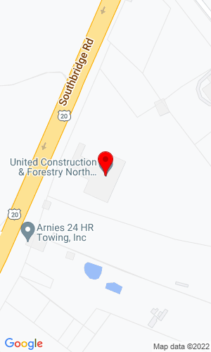 Google Map of Schmidt Equipment Inc. 80 Southbridge Road, North Oxford, MA, 01537