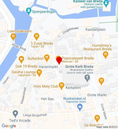 Google Map of Schoolstraat 2 4811 WB Breda