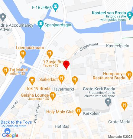 Google Map of Schoolstraat 3 4811 WB Breda