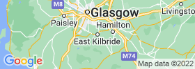 East Kilbride map