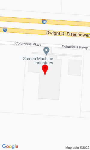 Google Map of Screen Machine Industries 10685 Columbus Parkway, Etna , OH, 43062
