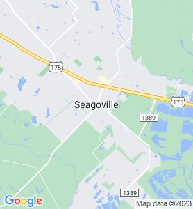 Seagoville TX Map