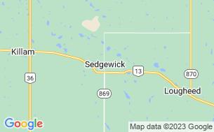 Map of Sedgewick Lake Campground
