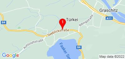 Google Map of Seeblickstraße 157, 9580 Drobollach