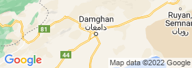 Damghan map