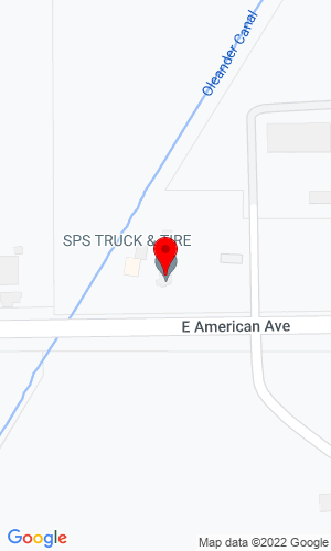 Google Map of Sequoia Equipment Company, Inc. 3400 E American Avenue, Fresno, CA, 93725
