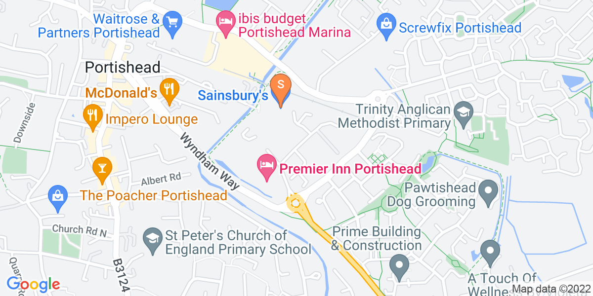 Google Map of Serbert RoadPortishead Bristol BS20 7GA