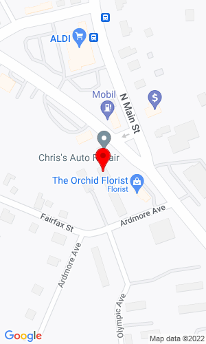 Google Map of Setaro Motors, Inc. 11 Chase Avenue, Waterbury, CT, 06704,