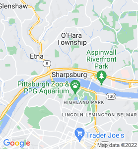 Sharpsburg PA Map