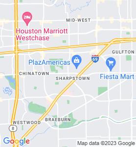 Sharpstown TX Map