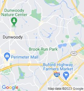 Shenandoah GA Map