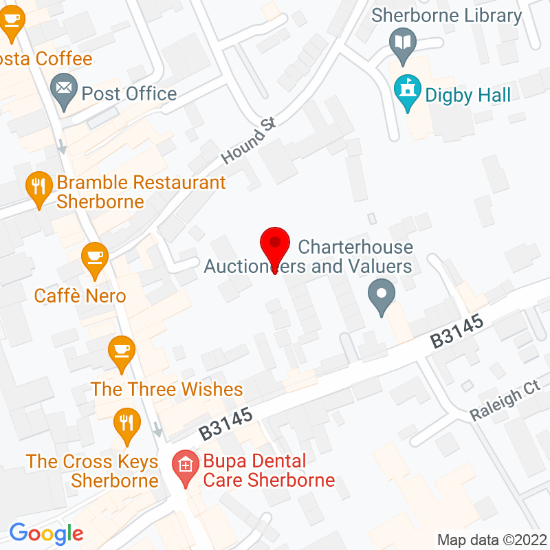 Google Map of Sherborne