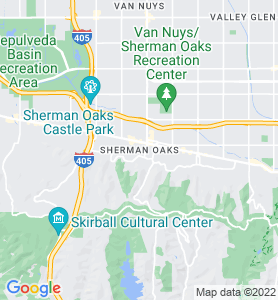 Sherman Oaks CA Map