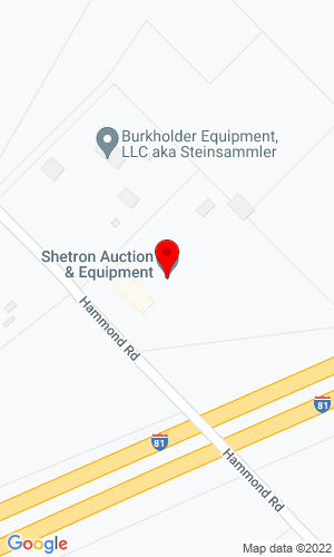 Google Map of Shetron Auctions 103 Hammond Road, Shippensburg, PA, 17257,