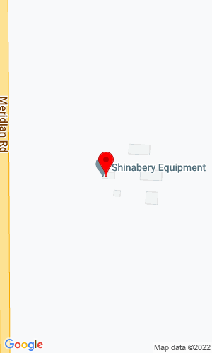 Google Map of Shinabery Equipment Company 1099 S. Meridian Road, Hudson, MI, 49247