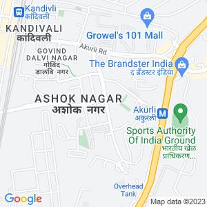 Google Map of Shop NO 2, Shital Smit CHS, Near Axis  Bank, Ashok Nagar, Kandivali (E), Mumbai.