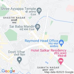 Google Map of Shop No 102, 1st Floor Laxmi Market, Above Ratnakar Bank, Vartak Nagar Naka, Opp Saibaba Temple Road, Pokhran Road No 1, Thane 400606