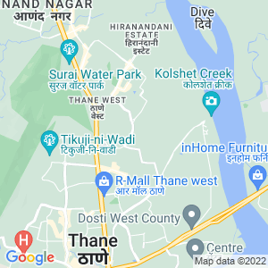 Google Map of Shop No. 6A , Ground floor, COSMOS ARCADE, 'B' wing, Near Orchid internation school, Near TMC water tank Brahmand, Opposit Brahmand phase 4, Thane (W)