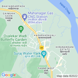 Google Map of Shop no - 6, Fenkin Belleza, Opp. M.K. Plaza, Kasaravasali, Ghobunder Road, Thane