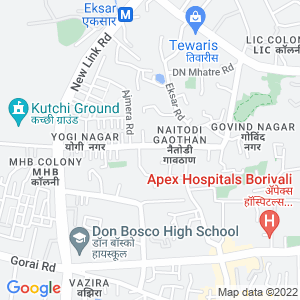 Google Map of Shop no 3, Ground floor, building NoC-1, Yogi Dwar CHS LTD, Yogi Nagar, Near Corporation Bank, Borivali (W), Mumbai.