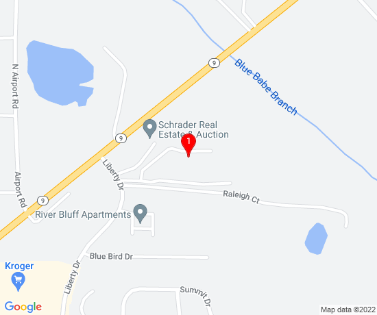 Google Map of Simonson Estates Apartments