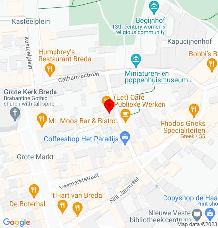Google Map of Sint Annastraat 19C 4811 XK Breda