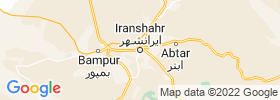 Iranshahr map