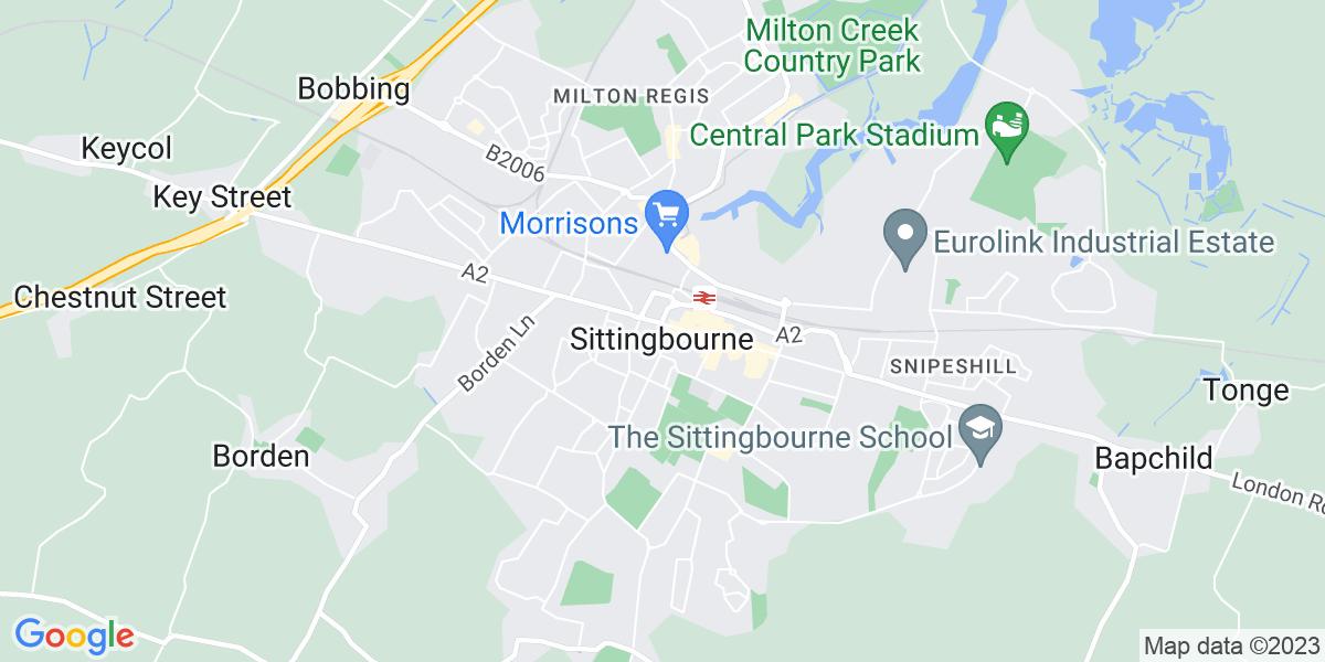 Map: Parts Avisor job role in Sittingbourne