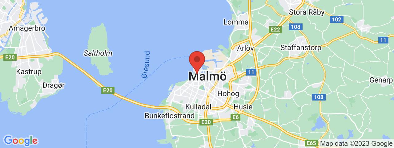 Adress på kartan