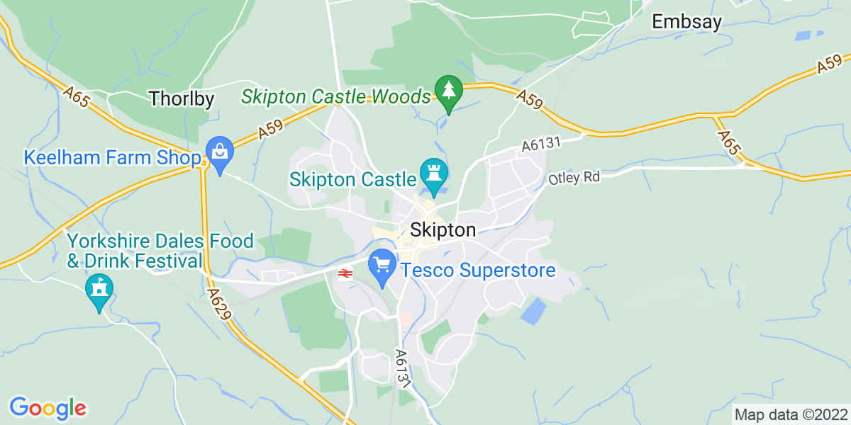 Map: Assistant Product Manager - Internship position in Skipton