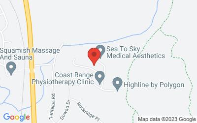 Map of Skyridge Pl, Squamish, BC V8B 0P6, Canada