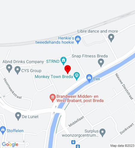 Google Map of Slingerweg 76 4814 AZ Breda