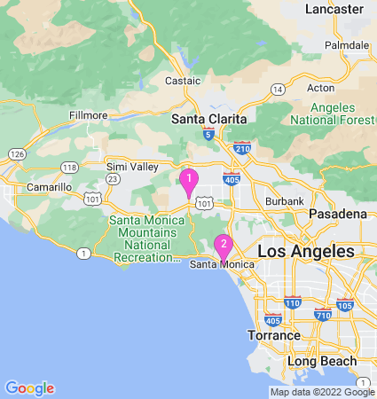 Google Map of Sloan's Ice Cream Near California
