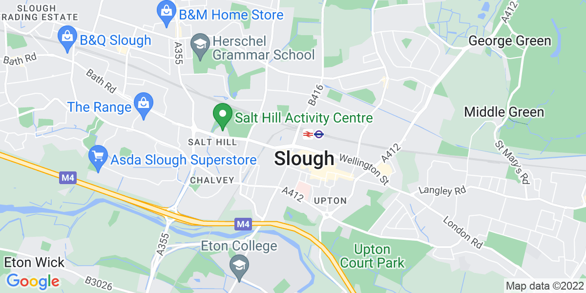 Map: Risk Analyst job in Slough