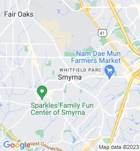 Smyrna GA Map