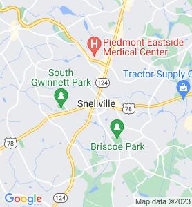 Snellville GA Map