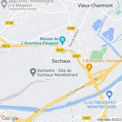 bed and breakfast Sochaux