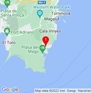 Google Map of Sol de Mallorca, Baleares, Spain