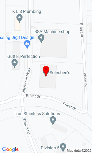 Google Map of Solebee's Equpment & Attachments LLC 2640 Jason Industrial Parkway, Winston, GA, 30187