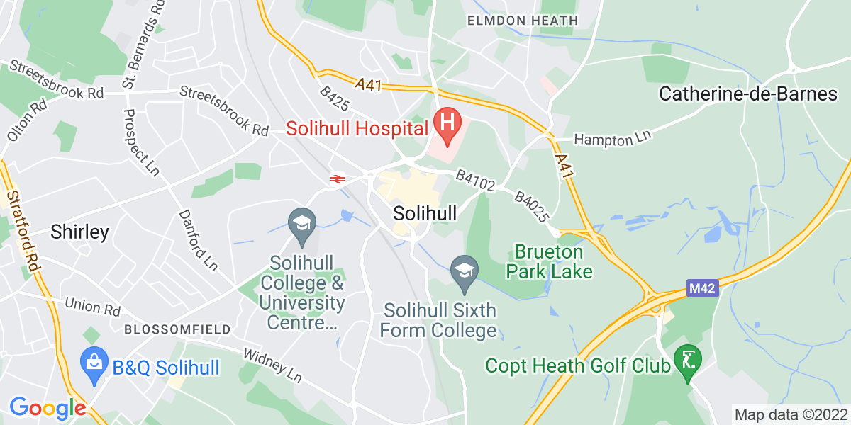 Map: Senior Software Engineer role in Solihull