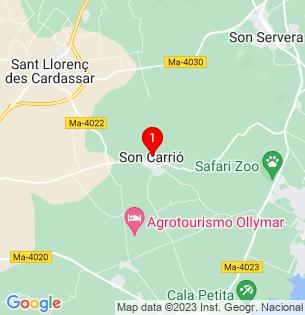 Google Map of Son Carrío, Baleares, Spain