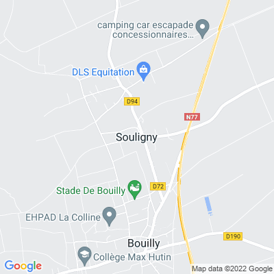 bed and breakfast Souligny