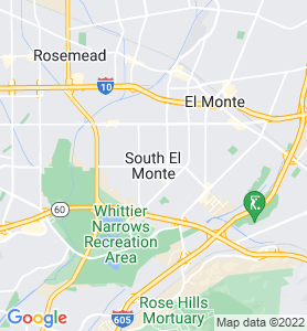 South El Monte CA Map