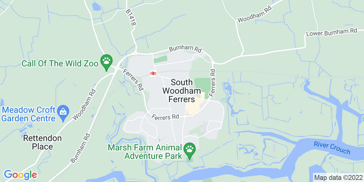 Map: Office Junior position in South Woodham Ferrers