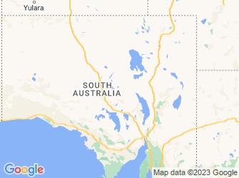 South_Australia map