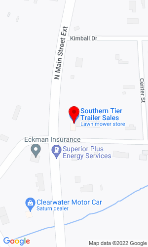 Google Map of Southern Tier Trailer Sales, Inc. 4018 N Main Street, Jamestown, NY, 14701-9642